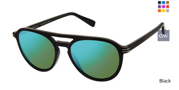 Black Canali 206 Polarized Sunglasses.
