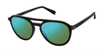 C01 Black Canali 206 Polarized Sunglasses.