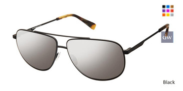 Black Canali 207 Polarized Sunglasses.