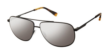C01 Black Canali 207 Polarized Sunglasses.