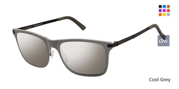 Cool Grey Canali 212 Sunglasses.