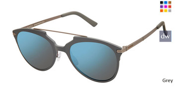 Grey Canali 213 Polarized Sunglasses.