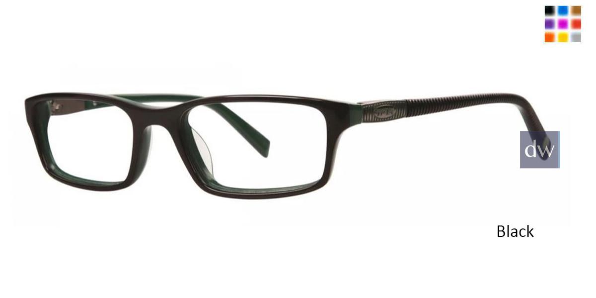 Black Timex TMX RX Zip-line Eyeglasses - teenager
