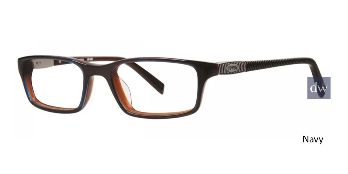 Navy Timex TMX RX Zip-line Eyeglasses - teenager