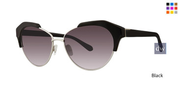 Black Zac Posen Keke Sunglasses.