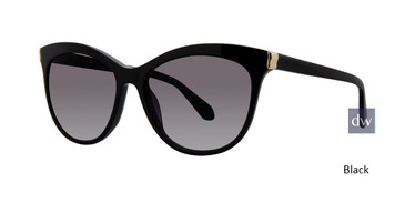 Black Zac Posen Elyse Sunglasses.