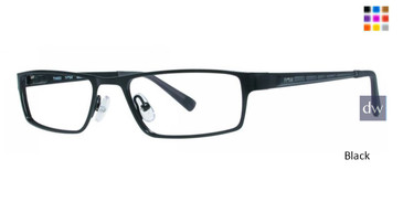 Black Timex TMX RX Tribute Eyeglasses - Teenager