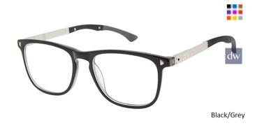 Black/Grey Champion 3Shakes Tween Champion Eyeglasses.