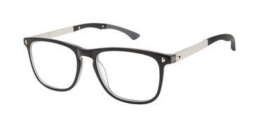 Black/Grey c01 Champion 3Shakes Tween Champion Eyeglasses.
