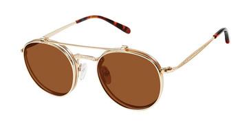 Gold c01 Champion 1003H Sunglasses.
