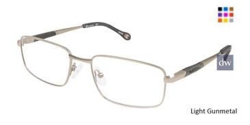 Light Gunmetal Champion 1015 Eyeglasses.