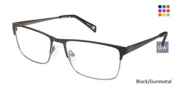Black/Gunmetal Champion 1018 Eyeglasses.