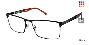 Black Champion 1022 Eyeglasses.
