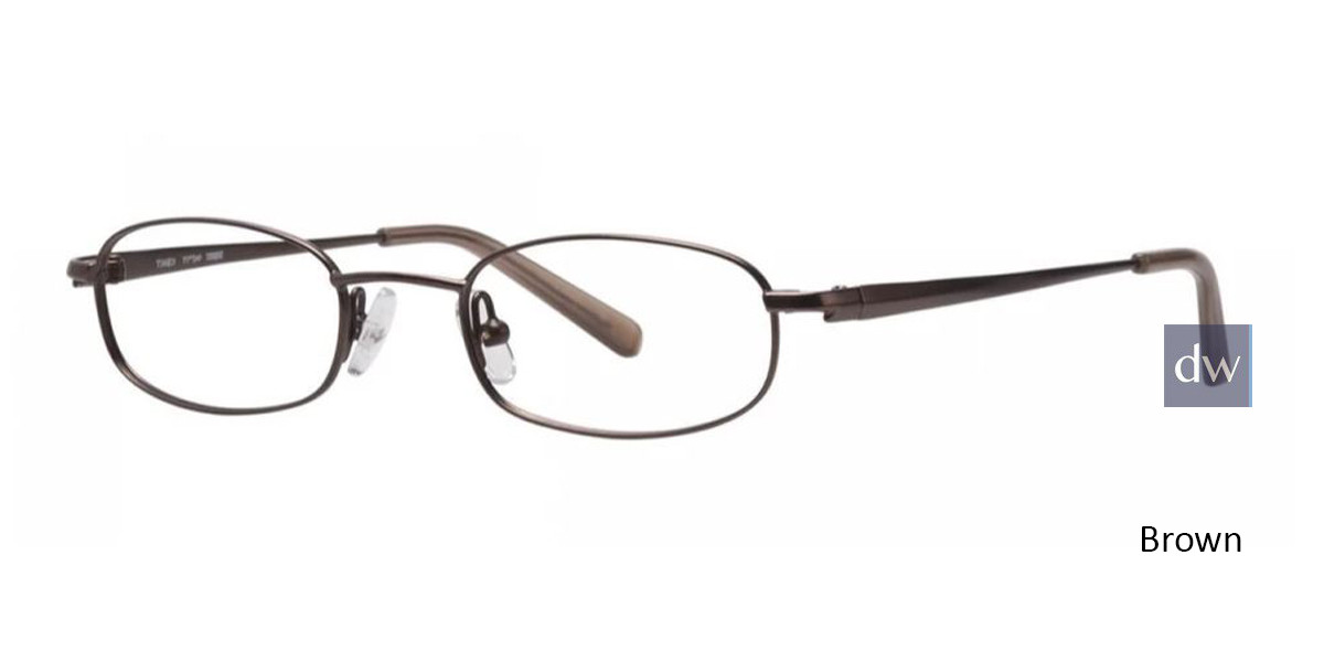Brown Timex TMX RX Torque Eyeglasses