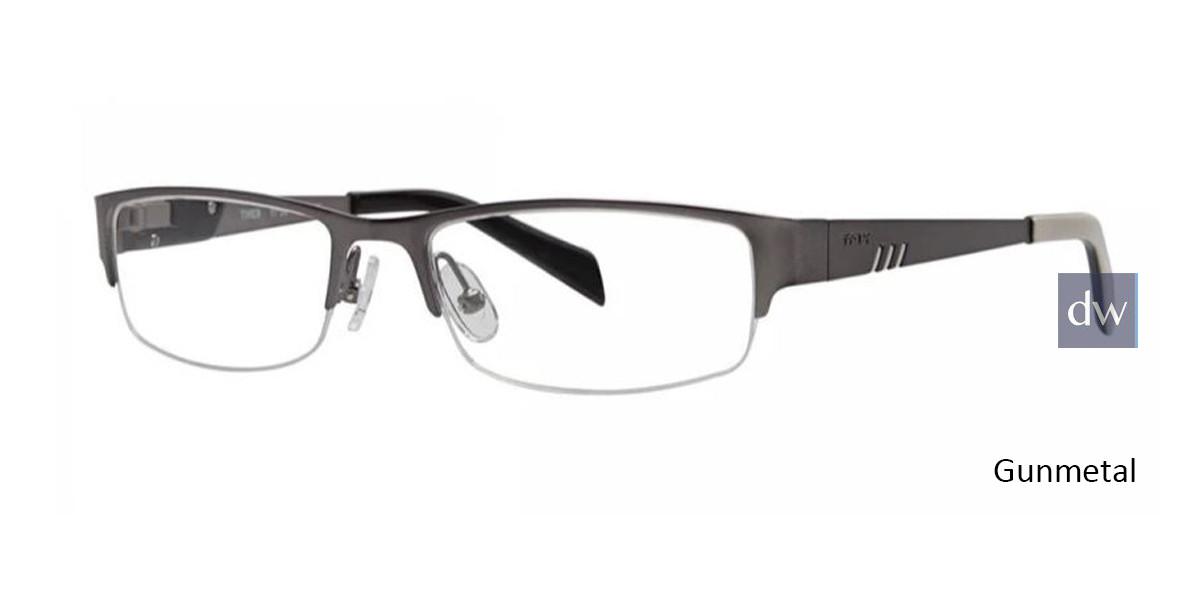 Gunmetal Timex TMX RX Compress Eyeglasses