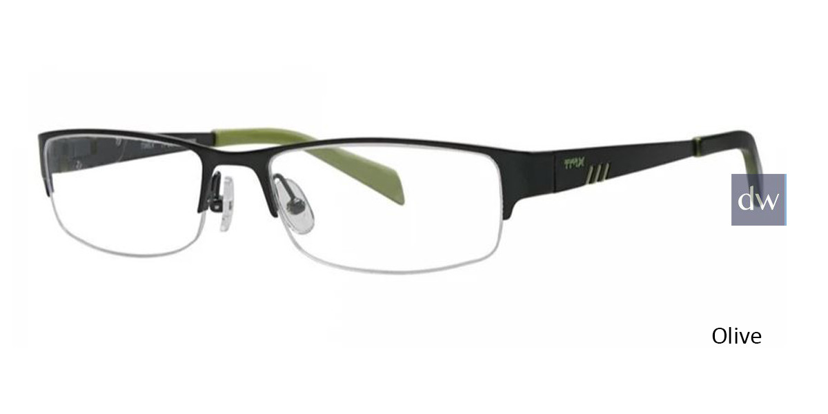 Olive Timex TMX RX Compress Eyeglasses