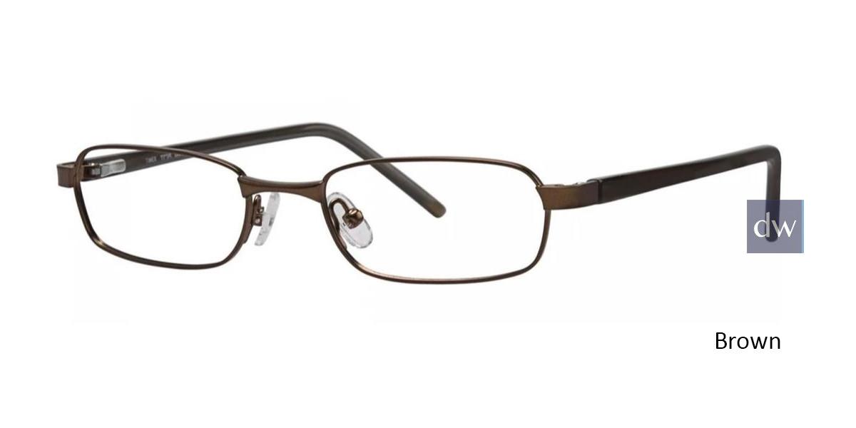 Brown Timex TMX RX Lookout Eyeglasses - Teenager