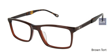 Brown Tort Champion 2015UF Tailored Fit Champion Eyeglasses.