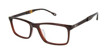 Brown Tort Champion c02 2015UF Tailored Fit Champion Eyeglasses.