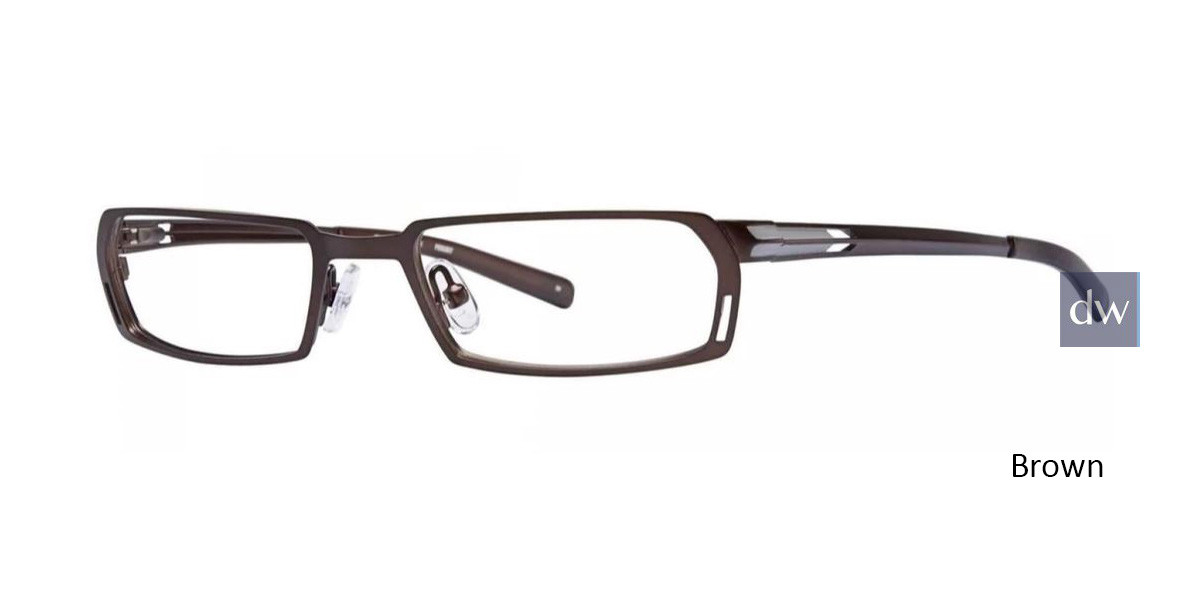 Brown Timex TMX RX Pursuit Eyeglasses
