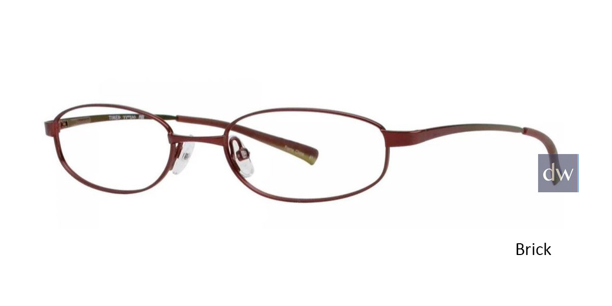 Brick Timex TMX RX Pike Eyeglasses - Teenager