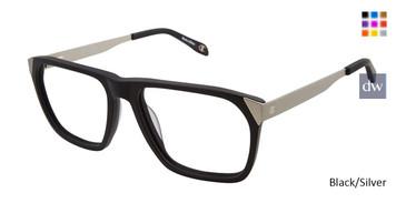 Black/Silver Champion 2025 Eyeglasses.