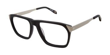 Black/Silver c01 Champion 2025 Eyeglasses.