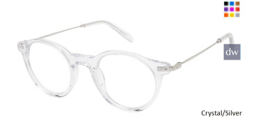 Crystal/Silver Champion 2027 Eyeglasses.