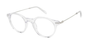 Crystal/Silver c02 Champion 2027 Eyeglasses.