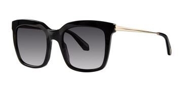 Black Zac Posen Alek Sunglasses.