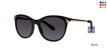 Black Zac Posen Johanna Sunglasses.