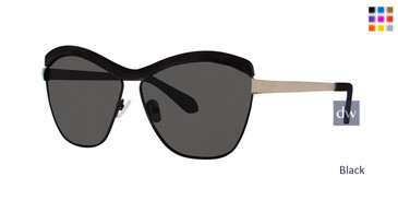 Black Zac Posen Luciana Sunglasses.