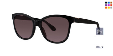 Black Zac Posen Eloyse Sunglasses.