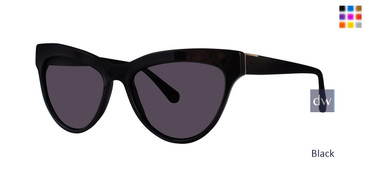 Black Zac Posen Farrow Sunglasses.
