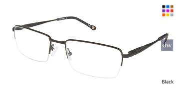 Black Champion 4012 Extended Size Eyeglasses.