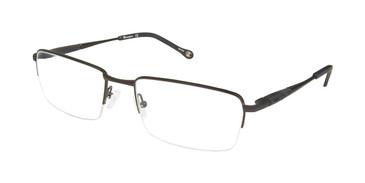 Black c01 Champion 4012 Extended Size Eyeglasses.