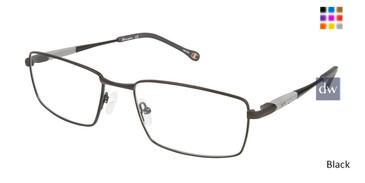 Black Champion 4013 Extended Size Eyeglasses.