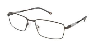 Black c02 Champion 4013 Extended Size Eyeglasses.