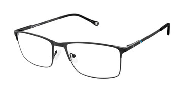 Black c03 Champion 4015 Extended Size Eyeglasses.