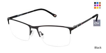 Black Champion 4016 Extended Size Eyeglasses.