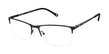Black c01 Champion 4016 Extended Size Eyeglasses.