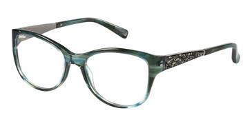 Green Marciano GM0244 Eyeglasses.