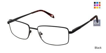 Black Champion 4021 Extended Size Titanium Eyeglasses.