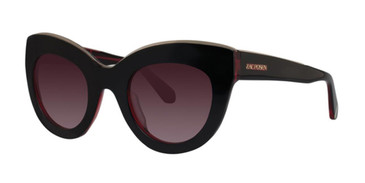 Black Cherry Zac Posen Jacqueline Sunglasses - Teenager.