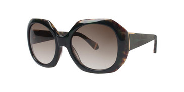 Green Zac Posen Ingrid Sunglasses.