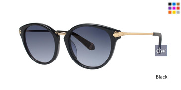 Black Zac Posen Bibi Sunglasses.