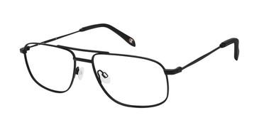 Matte Black c02 Champion 4027 Extended Size Eyeglasses.