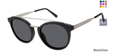 Black/Gun Champion 6003H Polarized Sunglasses.
