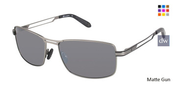 Matte Gun Champion 6029 Polarized Eyeglasses.