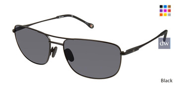 Black Champion 6038 Extended Size Polarized Sunglasses.